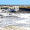 Waves At Tybee by Tara Potts