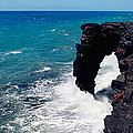 Waves Breaking On Rocks, Hawaii by Panoramic Images