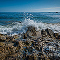 Waves Crashing by Michael Ver Sprill