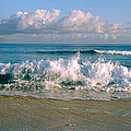 Waves Crashing On The Beach, Varadero by Panoramic Images