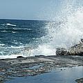 Waves Crashing On The Forbidden Isle by Kai Hyde