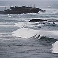 Powerful Waves Coming Ashore In San Juan # 1 by Marcus Dagan