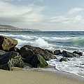 Waves - Manhattan Beach by Kim Hojnacki