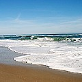 Waves On The Beach by James DeFazio