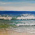 Waves by Pamela  Meredith