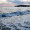 Waves Rolling In  by Madison Armstrong