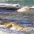 Waves - Wind - Fury Of The Sea by Barbara Griffin