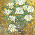 Waxen Roses by Aconti