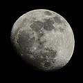 Waxing Gibbous Moon by David G Paul