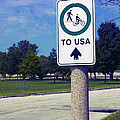Way To The Usa by Bob Pardue