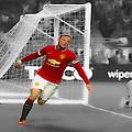 Wayne Rooney Scores Again by Brian Reaves