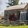 Wayside Grist Mill 5 by Dennis Coates