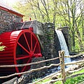 Wayside Inn Grist Mill by Barbara McDevitt
