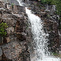 Wayside Waterfall I - Acadia Np by Christiane Schulze Art And Photography
