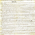 We The People Constitution Page 1 by Charles Beeler