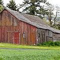 Weathered Barn 2 by CJ Middendorf