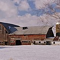Weathered Barn by Lowell Stevens