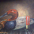 Weathered Canvasback by Anthony DiNicola