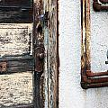 Weathered Door by Gerry Bates
