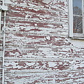 Weathered North Barn Lower Window by Tina M Wenger