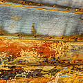 Weathered Wooden Boat - Abstract by Heidi Smith