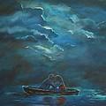 Weathering The Storm by Leslie Allen
