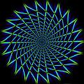 Web Mandala by WB Johnston