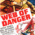 Web Of Danger, Us Poster, Adele Mara by Everett