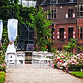 Wedding Arrangement In De Haar Castle. Utrecht  by Jenny Rainbow