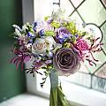 Wedding Bouquet Near A Window by Lee Avison