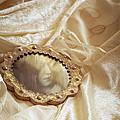 Wedding Dress And Mirror by Amanda Elwell