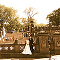 Wedding In Central Park by Christy Gendalia