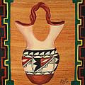 Wedding Vase by Mary Anne Civiok