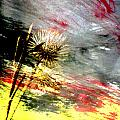 Weed Abstract Blend 2 by Anita Burgermeister