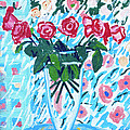 Weekend Roses by Candace Lovely