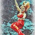 Weeki Wachee Mermaid by Mark Fuge