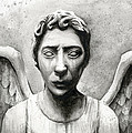 Weeping Angel Don't Blink Doctor Who Fan Art by Olga Shvartsur