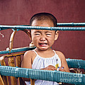 Weeping Baby In His Buggy by Heiko Koehrer-Wagner