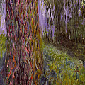 Weeping Willow And The Waterlily Pond by Claude Monet
