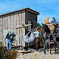 Weighing Cotton In The Field 1930s by Karl Wagner