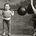 Weightlifting Dwarfism Exhibits by American Philosophical Society