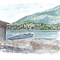 Weissensee Canoo by Petra Stephens