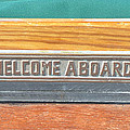 Welcome Aboard by Jill Kelley