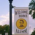 Welcome Home Banner by Mark Dodd
