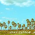 Welcome To Daytona Beach by Shirley Tinkham