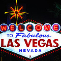 Welcome To Fabulous Las Vegas  by James Marvin Phelps