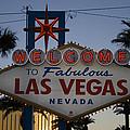 Welcome To Fabulous Las Vegas by Marta Grabska