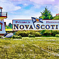 Welcome To Nova Scotia by Kerry Gergen