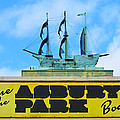 Welcome To The Asbury Park Boardwalk by Bill Cannon
