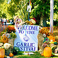 Welcome To The Garlic Festival by Jeelan Clark